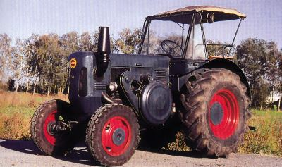 Tractor Lanz D 5006 Tractores