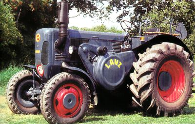 Tractor Lanz D 6007 Tractores