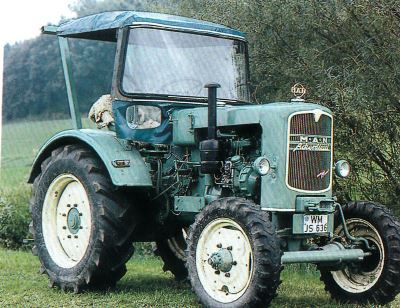 Tractor MAN A 25 A Tractores