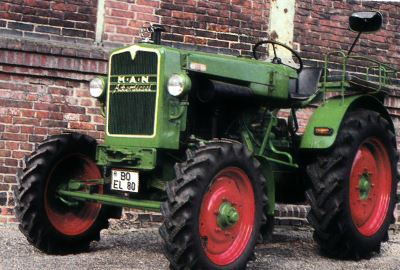 Tractor MAN AS 325 H Tractores