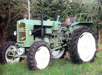 Tractor MAN B 18 A Tractores