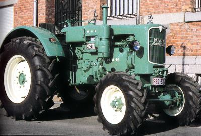 Tractor MAN B 45 A Tractores