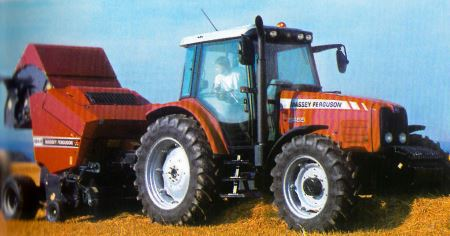 Tractor MF 5465 Tractores