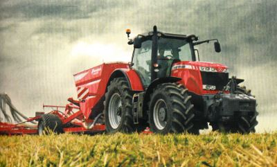 Tractor MF 8690 Tractores
