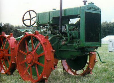 Tractor Massey-Harris 15/22 Tractores