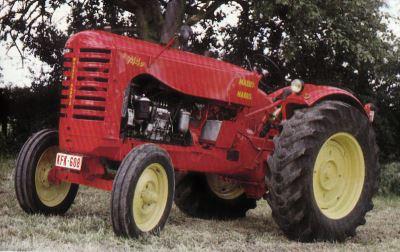 Tractor Massey-Harris 744 D Tractores