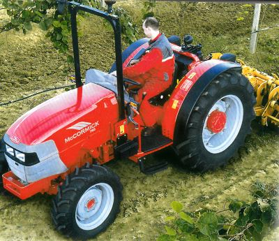 Tractor McCormick F 85 Tractores