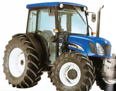 Tractor New Holland TN 70 DA Tractores