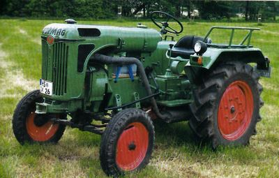 Tractor Normag NG 16 A Tractores