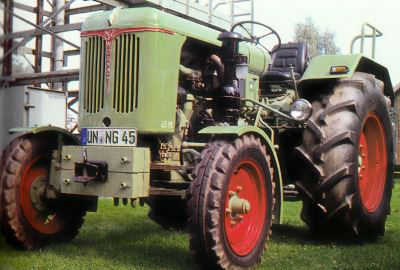 Tractor Normag NG 45 L Tractores