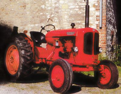 Tractor Nuffield Universal 3 Tractores