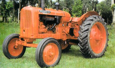 Tractor Nuffield Universal M 4 Tractores