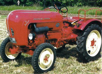 Tractor Porsche Junior K Tractores