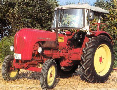 Tractor Porsche Standard Star tipo 238 Tractores