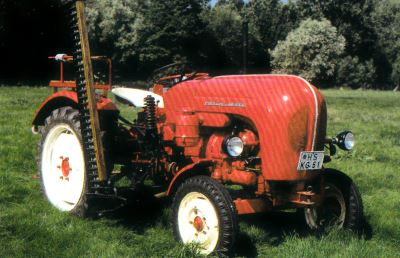 Tractor Porsche Standard tipo 217 Tractores