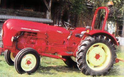 Tractor Porsche Super Export tipo 329 Tractores