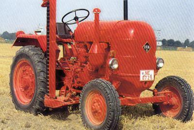 Tractor RS 02/22 Brockenhexe Tractores