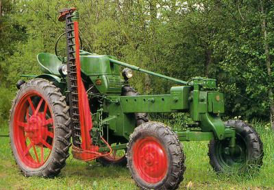 Tractor RS 08/15 Maulwurf Tractores