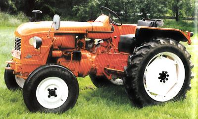 Tractor Renault N 72 Tractores