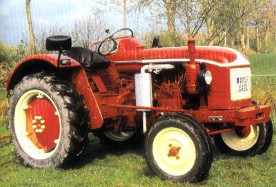 Tractor Renault Super 3 D Tractores