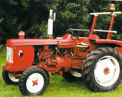 Tractor Renault Super 5 D Tractores