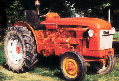 Tractor Renault Super 5D Tractores