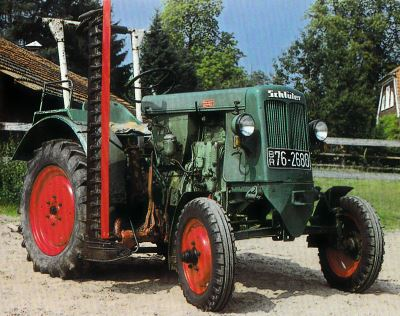 Tractor Schluter AS 18 Tractores