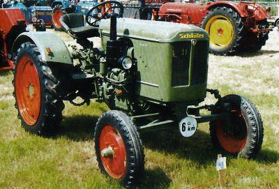 Tractor Schluter ASL 160 Tractores
