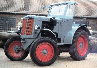 Tractor Schluter DS 25 B Tractores