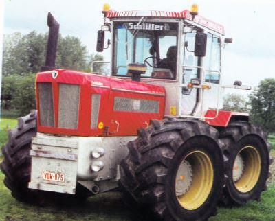 Tractor Schluter Profi Trac 3000 TVL Tractores