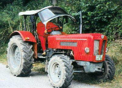 Tractor Schluter S 450 Tractores
