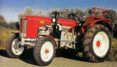 Tractor Schluter S 50 Tractores