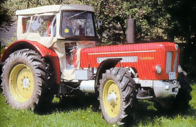 Tractor Schluter Super 650 V Tractores
