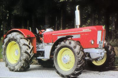 Tractor Schluter Super 750 V Tractores