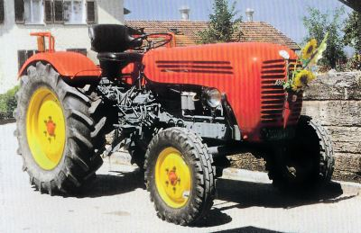 Tractor Steyr 188 Tractores