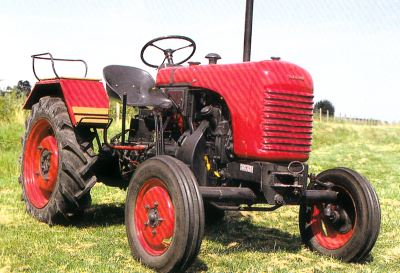 Tractor Steyr 80 Tractores