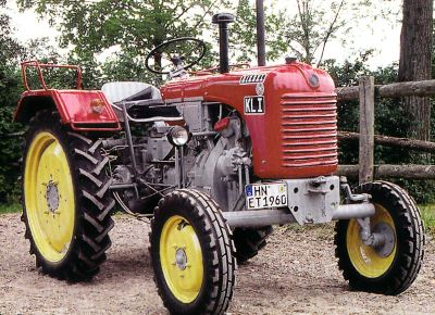 Tractor Steyr 84 a Tractores