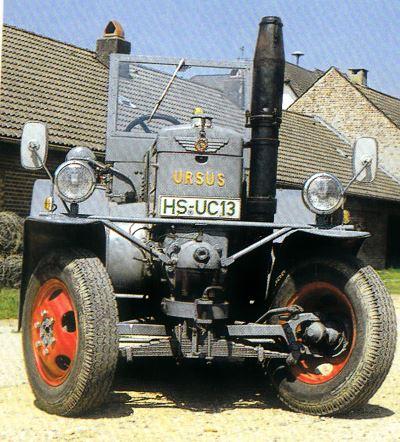 Tractor Ursus C 45 Tractores