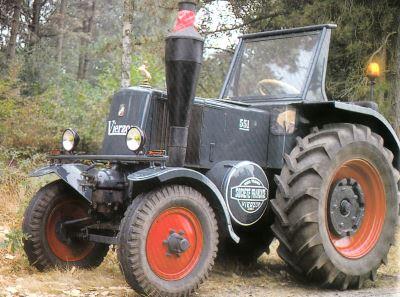 Tractor Vierzon 551 Tractores