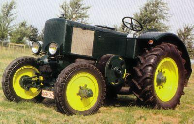 Tractor Vierzon FV 1 Tractores