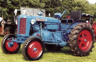 Tractor Zetor 25 Tractores