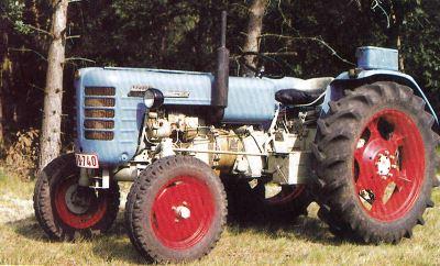 Tractor Zetor 4511 Tractores