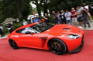 Aston Martin V12 Zagato gana la elegancia en concurso