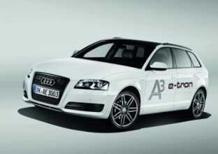 Audi A3 E-Tron en movimiento
