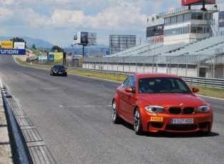BMW Series de prueba en el Circuito del Jarama