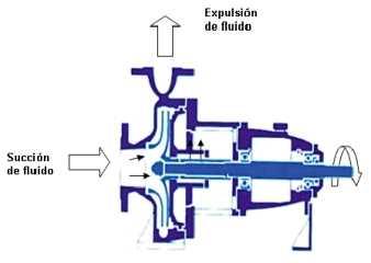 Componentes de una bomba VE