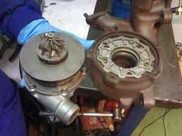 Desarmado del turbocompresor