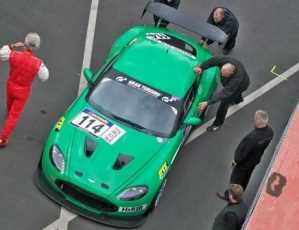 El Aston Martin V12 Zagato de carreras
