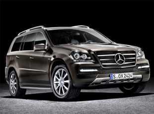 El Mercedes presenta el GL Grand Edition