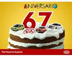 Kia celebra su 67 aniversario